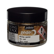 Pebeo Gedeo Gilding Paper Craft Wax 30ml Tub Pot - King Gold