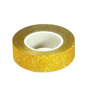Gilroy 1.5cm x 10m Glitter Washi Tape Sticky Paper Masking Adhesive Tape Label DIY Craft Decor