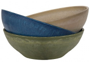 Hills Imports Recycled Composite Bowl, 39cm , Jewel Tones