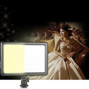 Hrph New Ultra Thin 104-LEDs Dimmable Video Light Pad for DSLR Cameras Camcorder