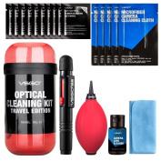 VSGO DKL-16 – Travel Kit for Cleaning Lenses, Red