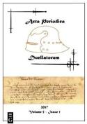 ACTA Periodica Duellatorum