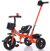 HJXJXJX Baby Trolley.Super Shock, Children Tricycle, Multi Colour Optional,