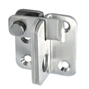 SAYAYO EMS3001 Slide Bolt Latch Gate Latches safety Door Lock,Stainless Steel Brushed Finish