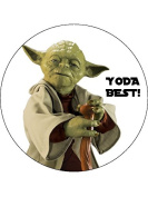 7.5 Star Wars Yoda Best Edible Icing Birthday Cake Topper