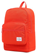 ALVIMAX Plain School Backpack Book Bag | 42x30x15cm | Holds 15.6-inch Laptop | OrangeRed