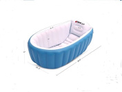 Inflatable Baby Bathtub, Kid Infant Toddler Infant Newborn Inflatable Foldable Shower Pool