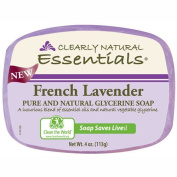 Clearly Natural Glycerin Bar Soap - French Lavender - 120ml