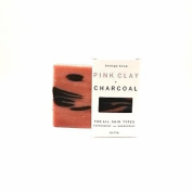 Pink Clay + Charcoal Face Soap