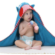 LCY Cartoon Animal Style Hooded Baby Towel For 0-6 years Boys And Girls