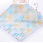 1Pcs Baby Comfortable Square Cotton Washcloth Face Towel Small
