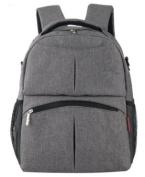 Nappy Bag Backpack for girls - Medium - Grey