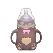 Bear Brown Baby Bottle 240ML