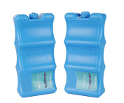 Reusable Ice Packs for Breastmilk Storage Healthy Baby Care Kit,Keep Your Food and Breast Milk Fresh,Contoured Shape Fits Around Breastmilk Bottles Perfectly,Blue,2 Packs