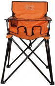CIAO! BABY HIGH CHAIR, Orange Folding Portable Todler HIGHCHAIR, HB2002