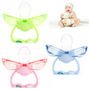 GaoCold New Infant Baby Safety Automatic Closure Pacifier Silicone Soother Newborn Orthodontic Nipples