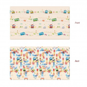 Parklon Play Mat Tayo Playmat Baby Soft Mat Living Room Mat Rug Double Sided Design 250x140x1.5CM
