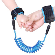 G2PLAYER Baby Anti Lost Hook and loop Wrist Link, 2 M Child Safety Harness Great for for Toddlers, Babies & Kids