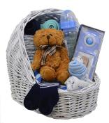 New Baby Boy Bassinet Gift Set