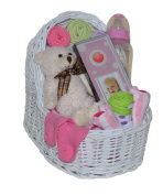 New Baby Girl Bassinet Gift Set