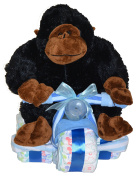 Blue Tricycle Baby Boy Gift Set