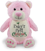 Baby's First Christmas, Pink Bear