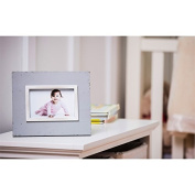 B. Boutique Solid Grey 4x6 Wooden Picture Frame