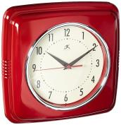 Glenna Jean Little Sail Boat Retro Diner Wall Clock, Red, 60cm x 6.4cm x 33cm