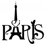 Wall Sticker, ZTY66 Paris Eiffel Tower Love Vinyl Art Mural Sticker for DIY Home Decor