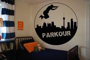 Wall Vinyl Sticker Decals Mural Room Design Pattern Art Decor Parkour Street Life City Sport Hobby mi936