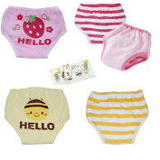 Lucky staryuan 4Pack Reusable Baby Toddler 6 Layers Potty Training Pants