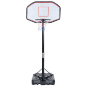 """IUNNDS Adjustable Pole Portable Basketball Hoop & Stand System With 44"""" Backboard For Outdoor Court Or Backyards"""