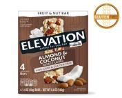Millville Elevation Almond Coconut Fruit & Nut Bars 170ml