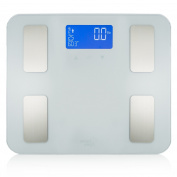 Smart Weigh Digital Bathroom Scale, Personal Body Weight Scale and BMI Scale for Weight Loss Management, Body Fat Scale with large LCD Display