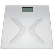 Glass Electronic LCD Personal Scale with 6mm Glass Platform with Max weight