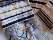 Messianic Prayer Shawl - messianic seal Zuluf Christian Sign Tallit Hebrew English 180cm *60cm … HLG020