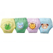 GVESS 4 X Baby Toddler Boys Cute 4 Layers Potty Training Pants Reusable