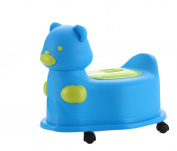Janeyer Eco-friendly PP Baby kids Pissing Car Sham Basin Draw-out type Squatting Pan