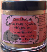 Pam Herbal Hibuscus Hair Care Powder 60g Control Hair Fall & Greying