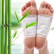 GARYOB 100Pcs Foot Pads Upgraded Patches with 100Pcs Adhesives Sheet Keeping Health Care