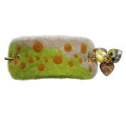 Tamarusan Hairpin Barretta Violet Cicada Water Surface Felt Hair Accessory