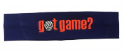 Logo Loops Embroidered Headband - Got Game Volleyball Orange