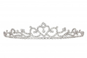 Rhinestone Crystal Princess of Heart Bridal Wedding Tiara Crown T1136