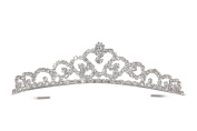Princess of Heart Rhinestone Crystal Bridal Wedding Tiara Crown T1144