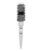 Elite Models Ceramid Head Round Brush with Heating Indicator, Small, Black, 110ml