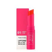 TONYMOLY Liptone Get It Tint Water Bar, 01 Pinky In Pink