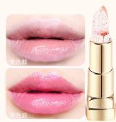 XY Fancy 1Pcs Magic Colour Temperature Change Jelly Translucent Flower Lip Gloss Lipstick Lip Balm