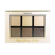 Profusion 6 Colour Studio Contour Palette Face Powder Highlighter Bronzer