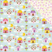 Perfect Princess Double-Sided Cardstock 30cm x 30cm -Fairy Village
