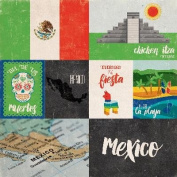 Around The World Double-Sided Cardstock 30cm x 30cm -Mexico
